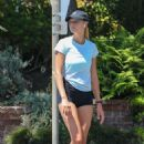 Kelly Rohrbach in Black Shorts – Out in Los Angeles - 454 x 681