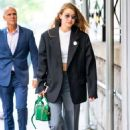 Gigi Hadid – Arriving at Marc Jacobs spring 2020 fashion show in New York City