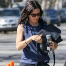 Courteney Cox in Jeans out in Beverly Hills