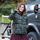 Sophia Bush – On set of her new TV show 'Surveillance' in Vancouver - 454 x 603