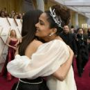Penélope Cruz and Salma Hayek At The 92nd Annual Academy Awards - Arrivals