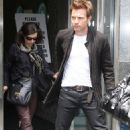 Eve Mavrakis and Ewan McGregor