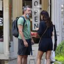 Helena Christensen – With a mystery man in NYC - 454 x 581
