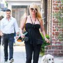 Nicollette Sheridan – Shopping in Los Angeles - 454 x 681