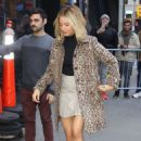 Ashley Tisdale – Leaves the 'Good Morning America' show in NYC