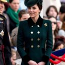 Kate Middleton – 2017 Annual Irish Guards St Patrick's Day Parade in London - 454 x 1089