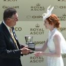 Eleanor Tomlinson attends Royal Ascot 2017 at Ascot Racecourse on June 21, 2017 in Ascot, England - 454 x 259
