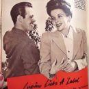 Ida Lupino and Louis Hayward - Movies Magazine Pictorial [United States] (September 1941)