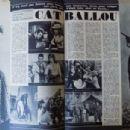 Cat Ballou - Cine Tele Revue Magazine Pictorial [France] (22 April 1965) - 454 x 304