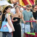 Roselyn Sanchez in Long Black Dress – Shopping at the Farmers Market in Studio City - 454 x 682