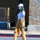 Jamie Chung – Wearing colored jeans as she runs errands in Los Angeles - 454 x 544