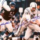 Dick Butkus & John Unitas - 450 x 363