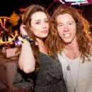Shaun White and Arielle Vandenberg - 454 x 313