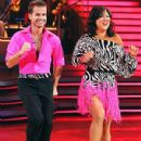 Louis van Amstel and Margaret Cho