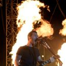 Frontman Sully Erna of Godsmack performs during the Las Rageous music festival at the Downtown Las Vegas Events Center on April 21, 2017 in Las Vegas, Nevada - 419 x 600