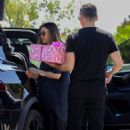 Jessica Alba – Arriving for Chrissy Teigen's daughter birthday party in Beverly Hills - 454 x 681
