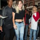Miley Cyrus heading to dinner in New York City