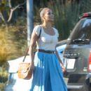 Paula Patton – Out in Malibu - 454 x 681