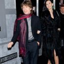 "Mick Jagger and L'Wren Scott attend the ""Shutter Island"" special screening at the Ziegfeld Theatre on February 17, 2010 in New York City"