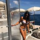 Claudia Romani in White Bikini in Amalfi - 454 x 681