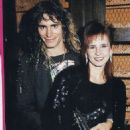 Steve Vai and Pia Maiocco