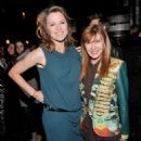 "Actress Lucy Lawless and designer Nicole Miller attend the after party for the FilmDistrict with The Cinema Society, L'Oreal Paris And Appleton Estate screening Of ""Parker""at Marquee on January 23, 2013 in New York City"