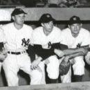New York Yankees Vic Raschi, Tommy Henrich, Joe DiMaggio, Allie Reynolds & Yogi Berra