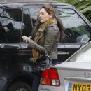 Kelly Brook - Leaving Her London Home To A Local Restaurant, 11 March 2010
