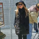 Rachel Zoe: stroller with the nanny in SoHo