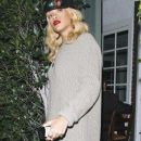 Rihanna Leaving Giorgio Baldi in Los Angeles