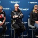 Glenn Tipton, Rob Halford and Richie Faulkner of the band Judas Priest attend SiriusXM's Town Hall series with Judas Priest on July 8, 2014 in New York City - 454 x 303