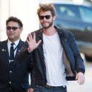 Liam Hemsworth-November 16, 2015-Liam Hemsworth at 'Jimmy Kimmel Live'