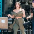 Ashley Graham at Cafe Gratitude in Los Angeles - 454 x 681