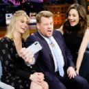 January Jones and Emmy Rossum - The Late Late Show with James Corden (2017) - 454 x 303