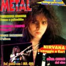 Yngwie Malmsteen - Metal Shock Magazine Cover [Italy] (June 1994)