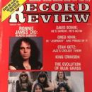 Iron Maiden - Record Review Magazine Cover [United States] (August 1983)