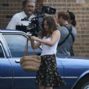 Dakota Johnson – On the set of 'The Peanut Butter Falcon' in Savannah - 454 x 681