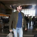 Gerard Butler is seen at LAX