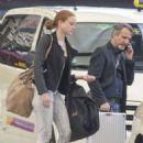 Barbara Meier Arriving At Berlin Tegel Airport From Munich