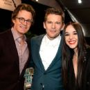 Lorelei Linklater, Ethan Hawke and Kyle Machachlan at the Indie Spirit Awards