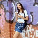 Victoria Justice Out About In New York