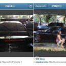 Claudine posts 'The Controversial Porsche' photo online