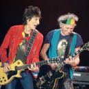 The Rolling Stones perform live at Mt Smart Stadium on November 22, 2014 in Auckland, New Zealand