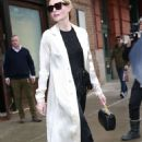 Kate Bosworth with her husband Leaves Greenwich Hotel in NYC