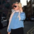Lily Allen Night – Seen Out In London - 454 x 591