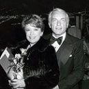 Nancy Dussault and Ted Knight
