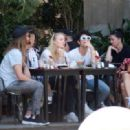 Sophie Turner and Joe Jonas – Out for some lunch in Barcelona - 454 x 319