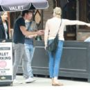 Rebecca Romijn and Jerry O'Connell at Black Market in Los Angeles - 454 x 303