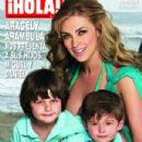 Aracely Arámbula  with Miguel and Daniel