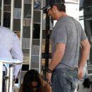 Gerard Butler: Boating with Moran Atias